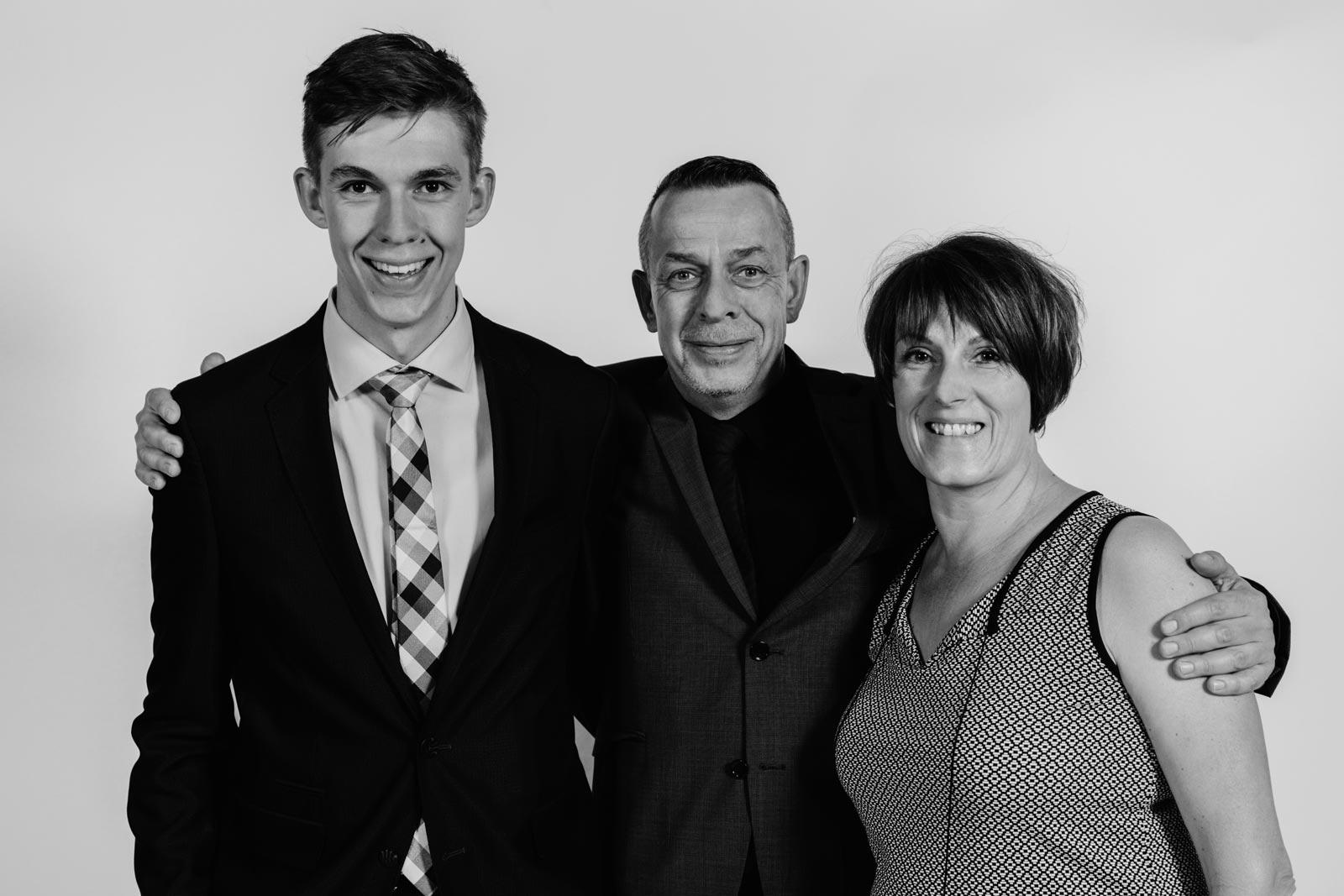 TiPTO (v. l.: Tim, Thomas (Tom) & Petra Bartelsen). Foto: © GVO MEDIA / Gregor Ott